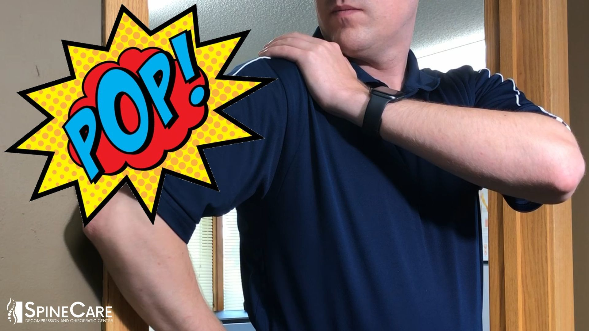 How to Pop Your Shoulders by Yourself (St. Joseph, MI Chiropractor)