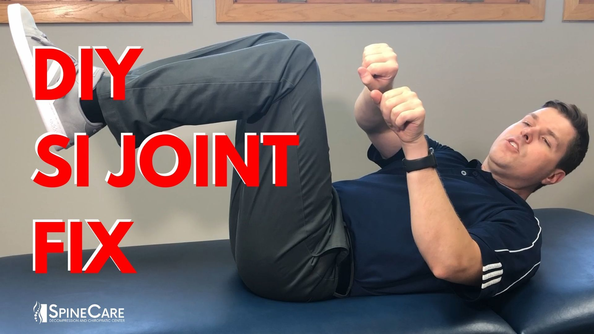 DIY SI JOINT RELEASE | St. Joseph, MI Chiropractor