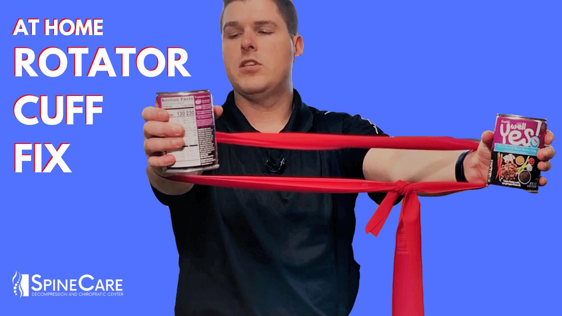 Rotator Cuff Injury Treatment (AT HOME) | St. Joseph, MI Chiropractor