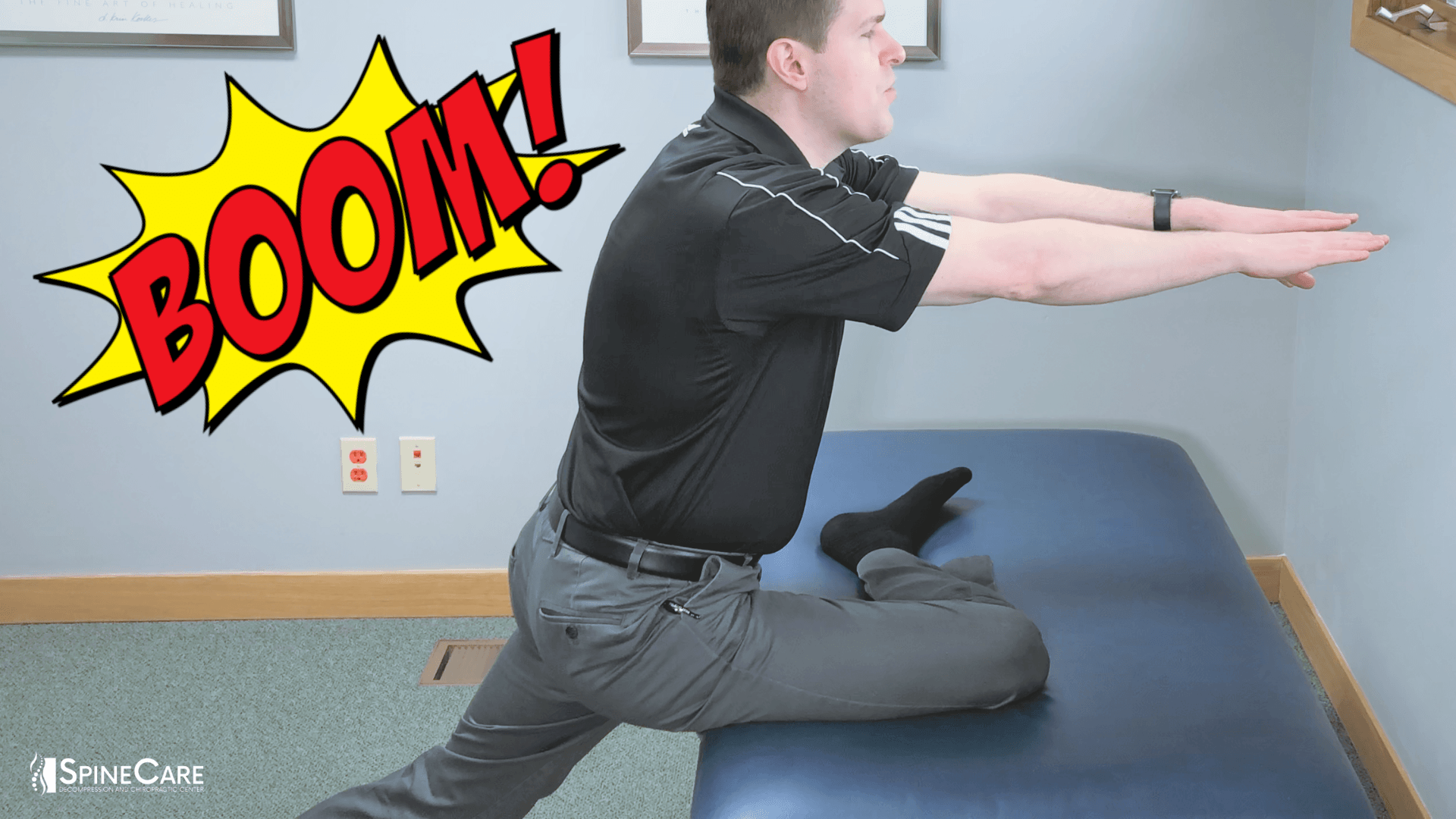 How to Get a DEEP Buttock Stretch | Dr. Rowe St. Joseph, MI Chiropractor