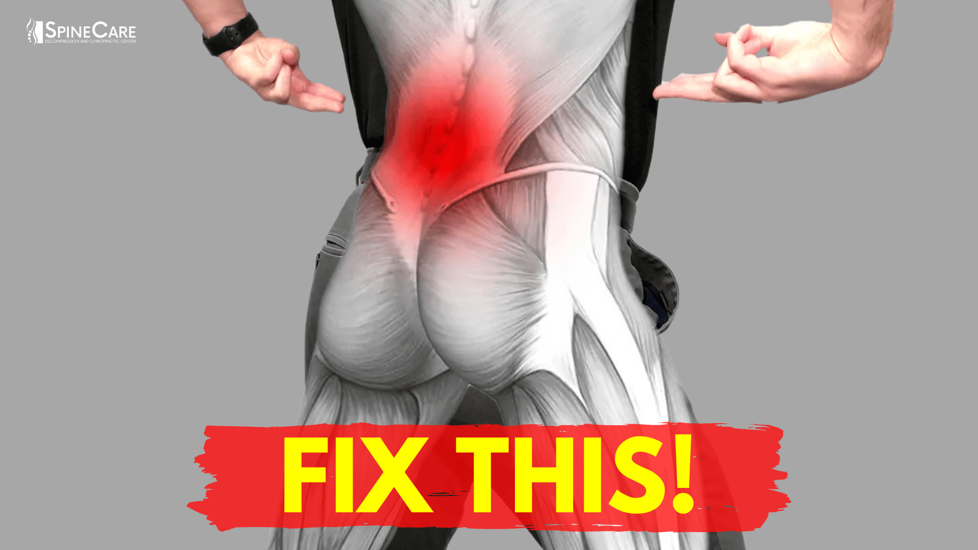 How to Fix Your Lower Back Pain for Good | SpineCare | St. Joseph, Michigan Chiropractor