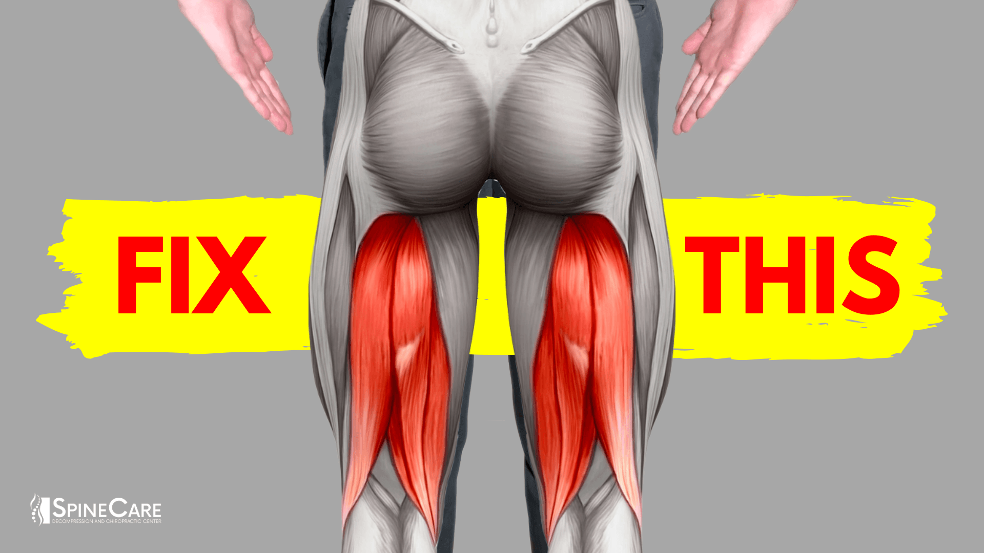 How to Fix a Tight Hamstring for Good | SpineCare | St. Joseph, Michigan Chiropractor