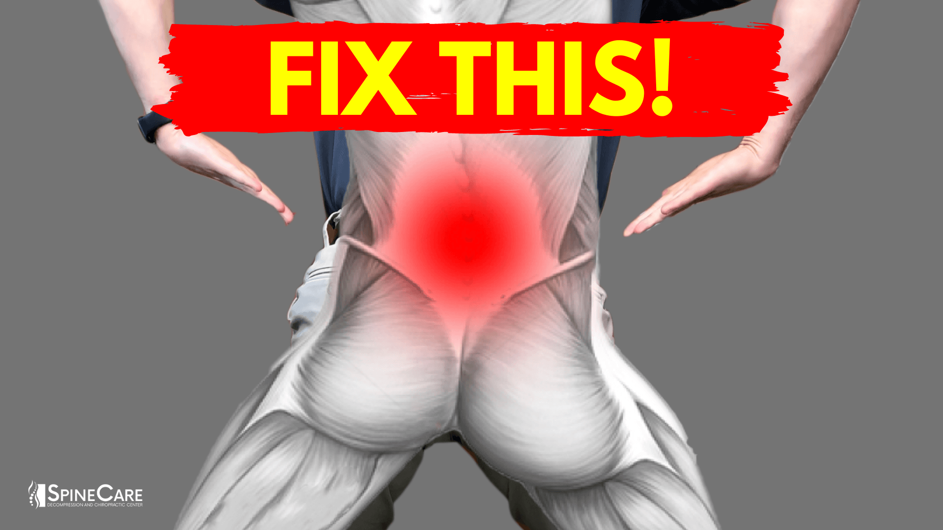How to Fix a Tight Lower Back in 30 SECONDS | SpineCare | St. Joseph, Michigan Chiropractor