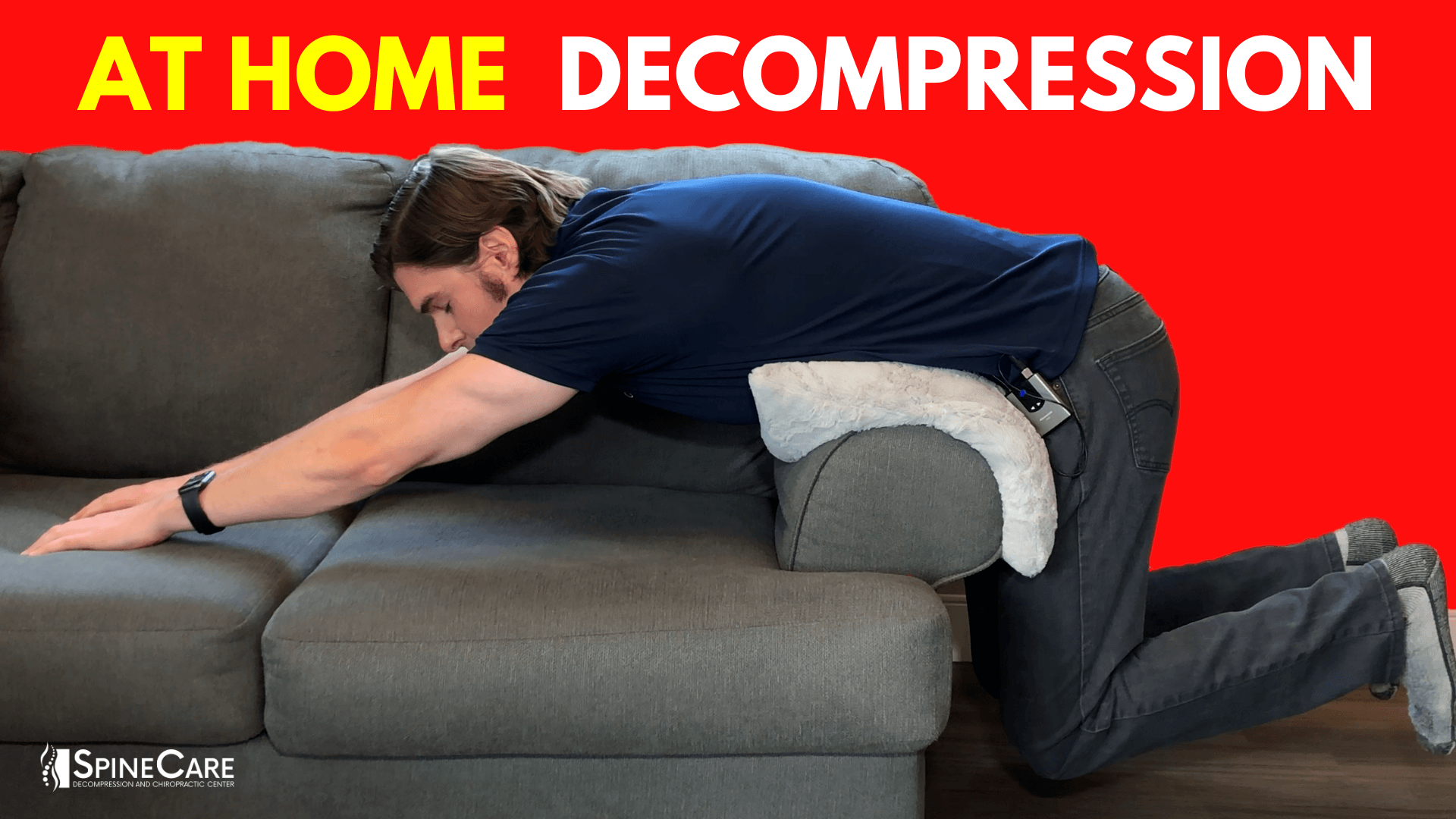 Top Spinal Decompression Techniques Using Just a Couch | SpineCare | St. Joseph, Michigan Chiropractor