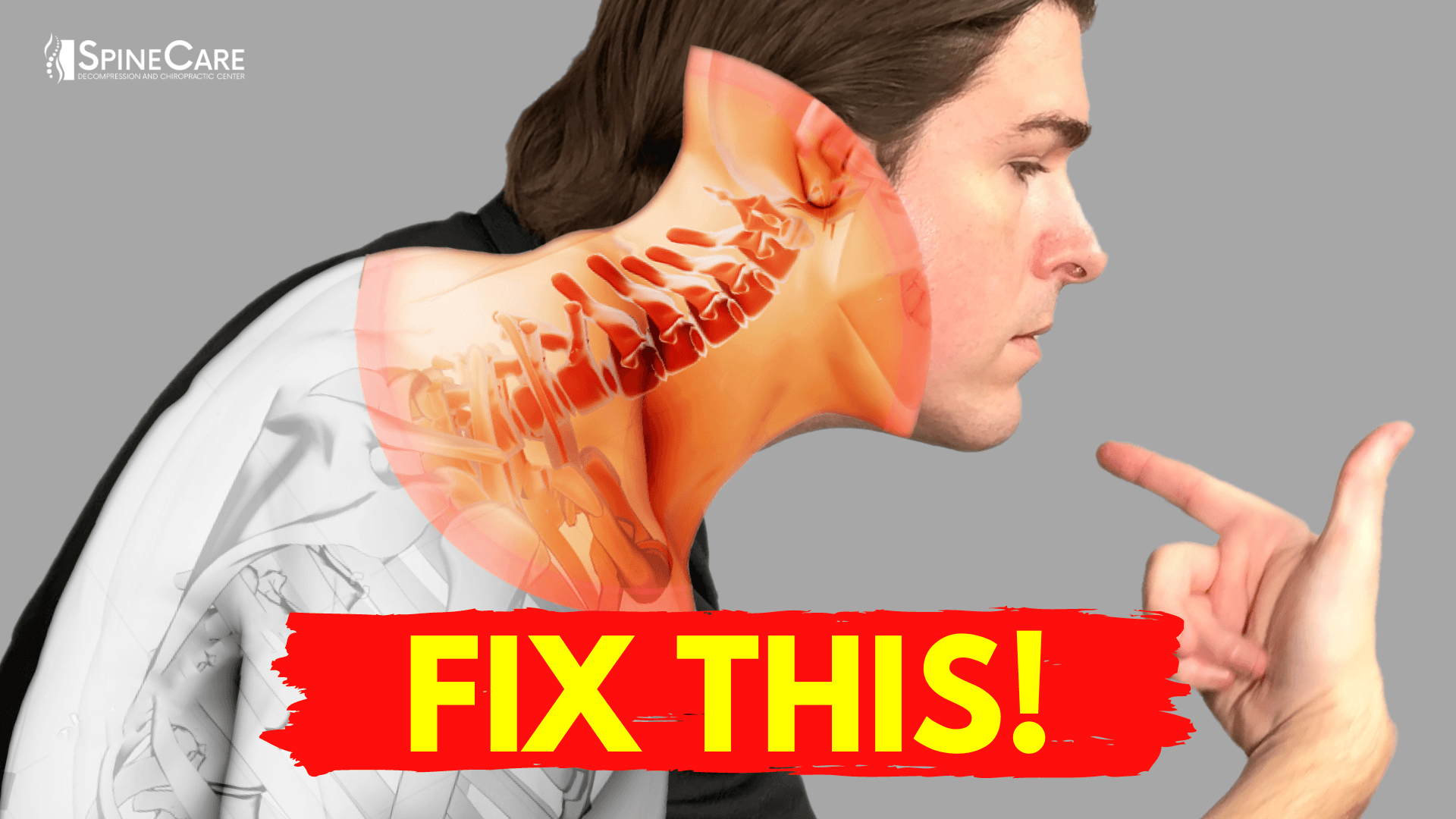 goes over the best ways to get neck bulging disc pain relief AT HOME! | SpineCare | St. Joseph, Michigan Chiropractor