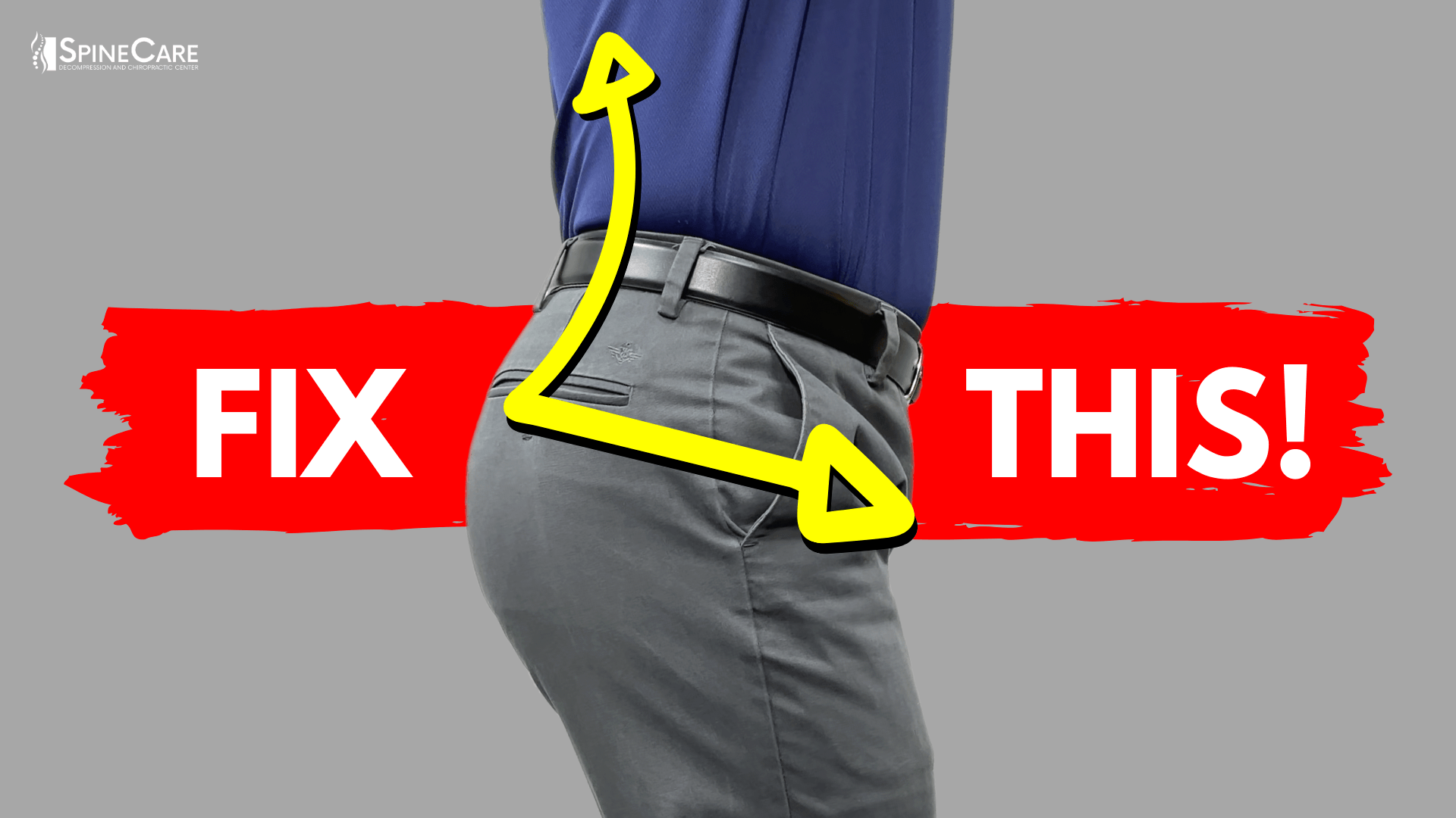 How to Fix Bad Lower Back Posture for Good | SpineCare| St. Joseph, Michigan Chiropractor