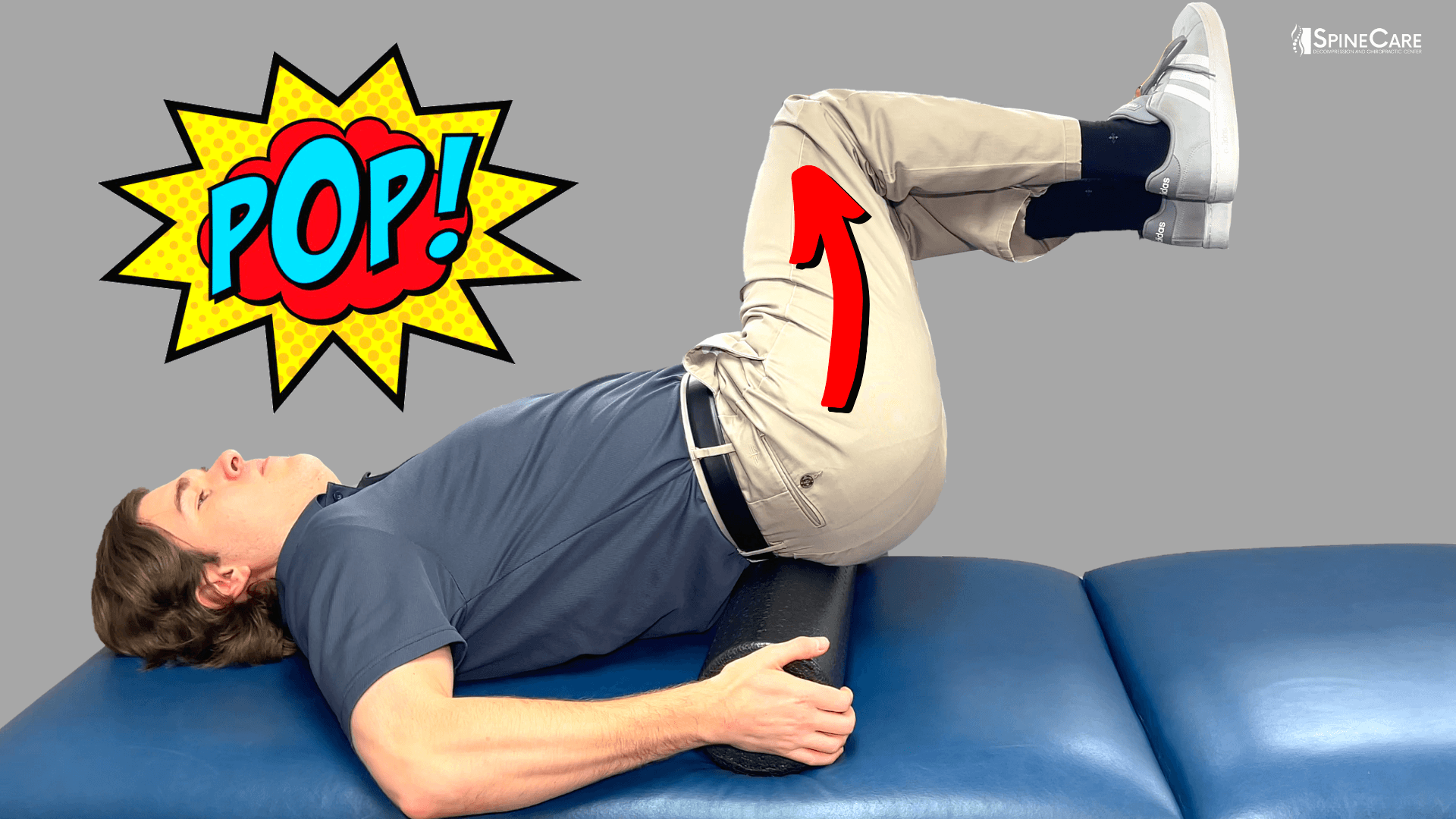 How to Release Your FULL BACK With a Foam Roller | SpineCare | St. Joseph, Michigan Chiropractor