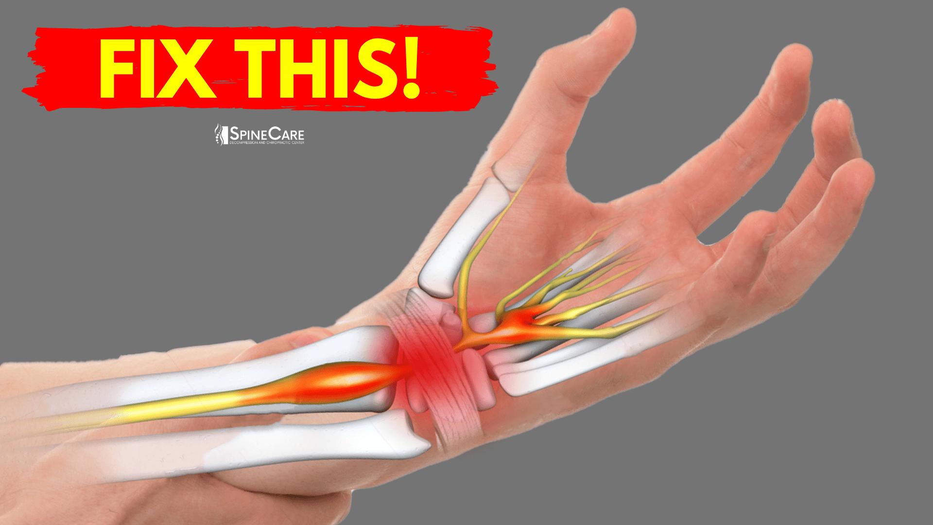 How to Fix Wrist Pain for Good | SpineCare | Saint Joseph, Michigan Chiropractor