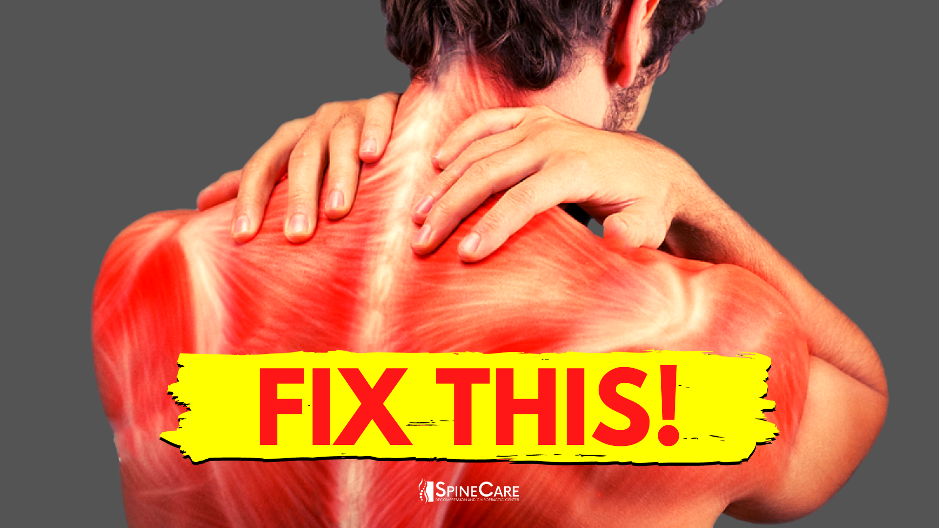 How to Fix a Tight Neck in 30 SECONDS | SpineCare | St. Joseph, Michigan Chiropractor