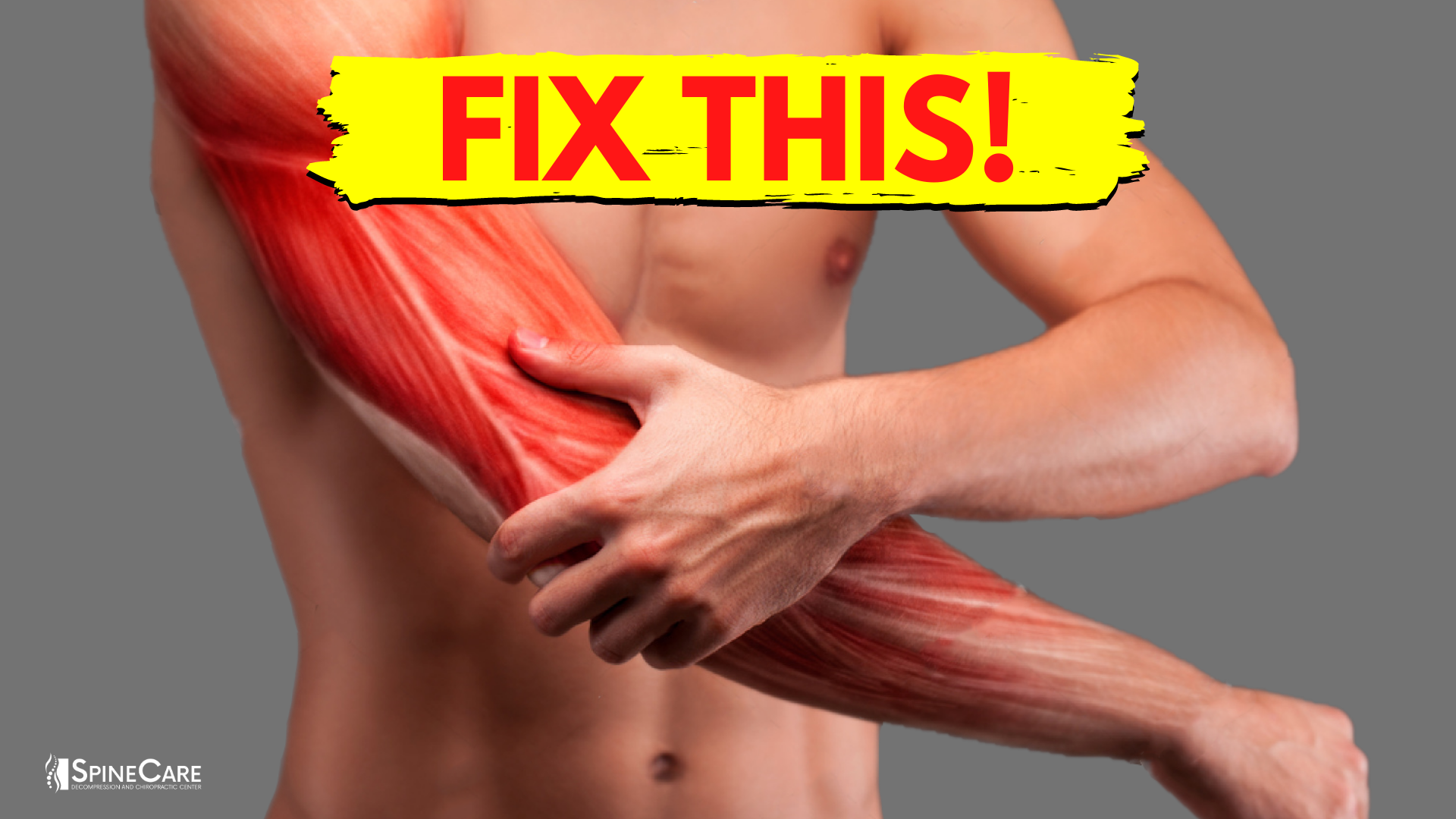 How to Fix Arm Muscle Pain in 30 SECONDS   SpineCare   Saint Joseph, Michigan Chiropractor