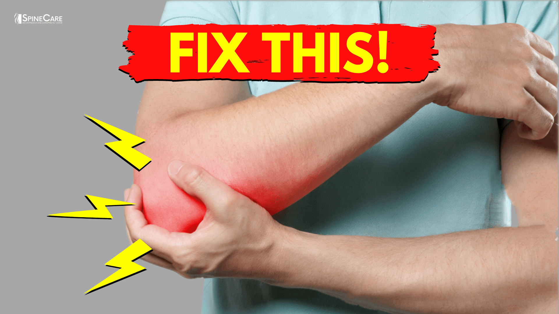 How to Fix Elbow Popping Sounds in 30 SECONDS   SpineCare   St. Joseph, Michigan Chiropractor